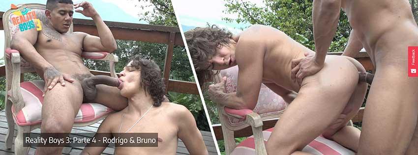 Meninos Online - Chicos de realidad 3 - Parte 4 - Rodrigo and Bruno